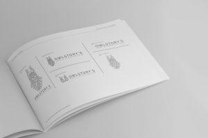 Manual de marca; logotipo y variantes para nuestro cliente dedicado a la fotografía.